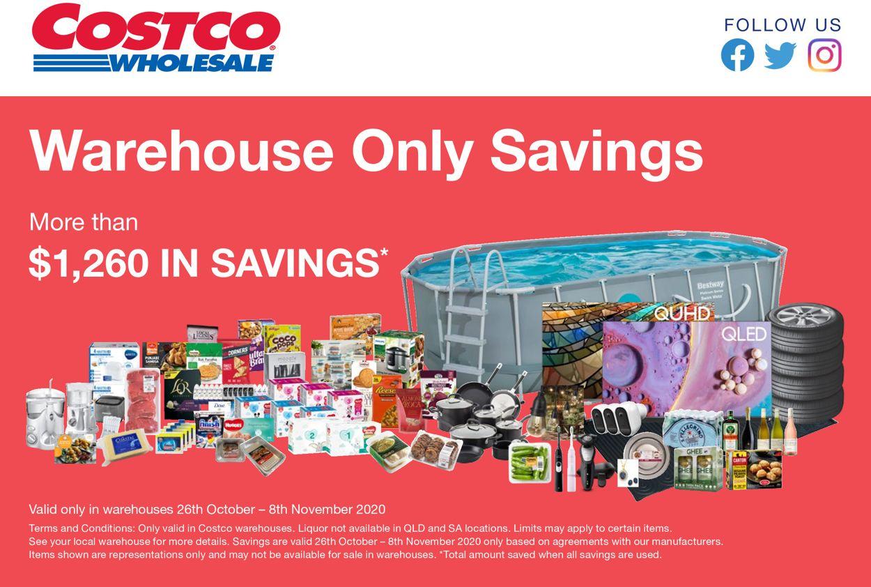 Costco Catalogue - 26/10-08/11/2020