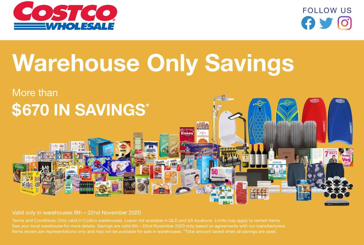 Costco Catalogue - 09/11-22/11/2020