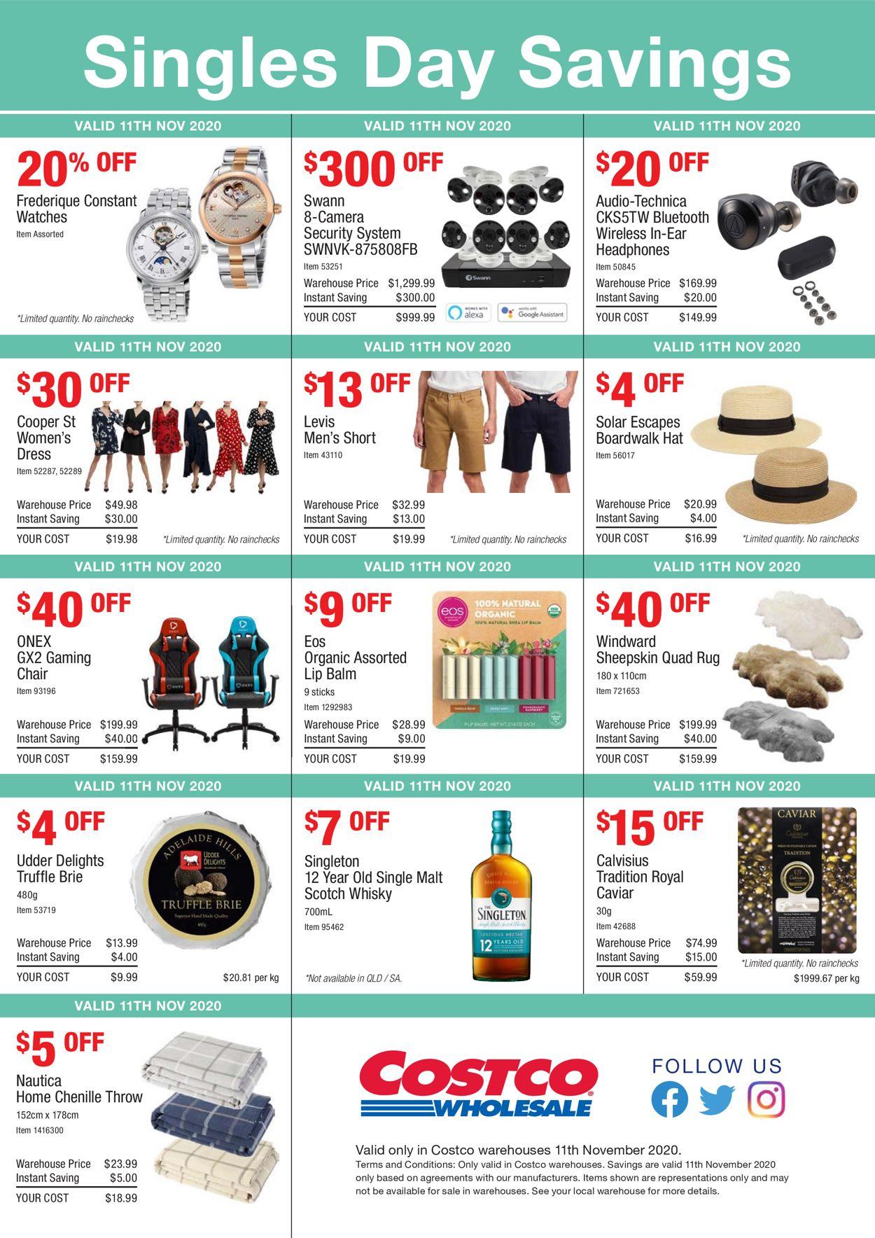 Costco Catalogue - 11/11-11/11/2020