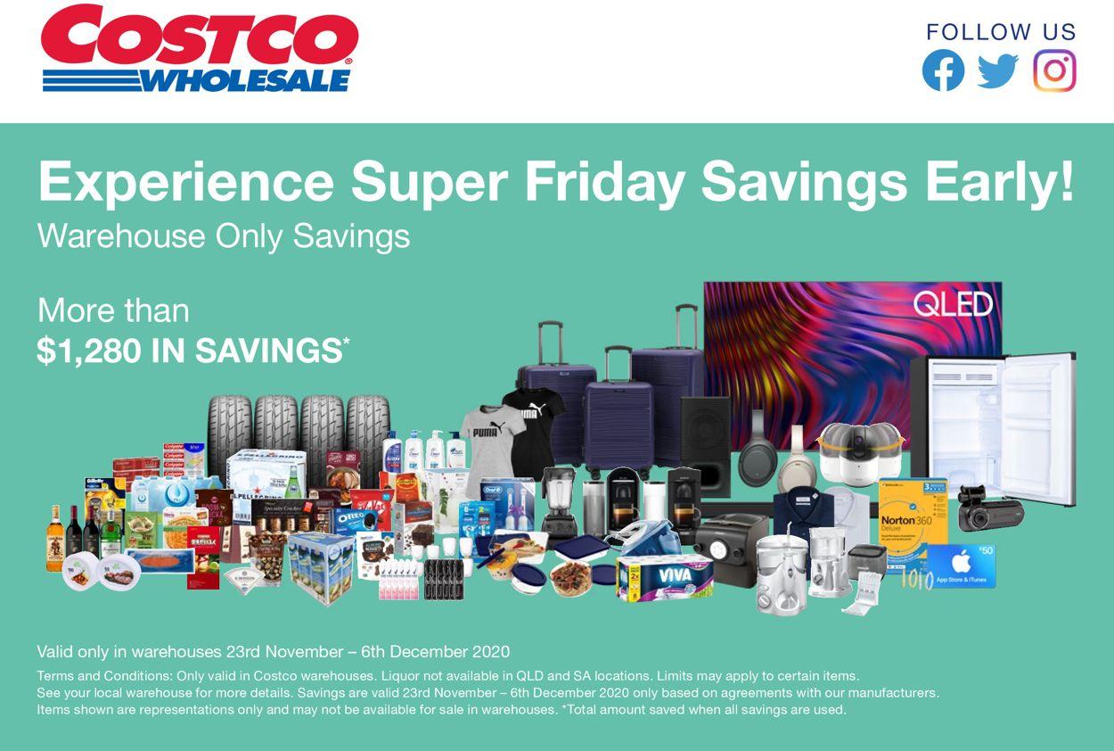Costco Black Friday 2020 Catalogue - 23/11-06/12/2020