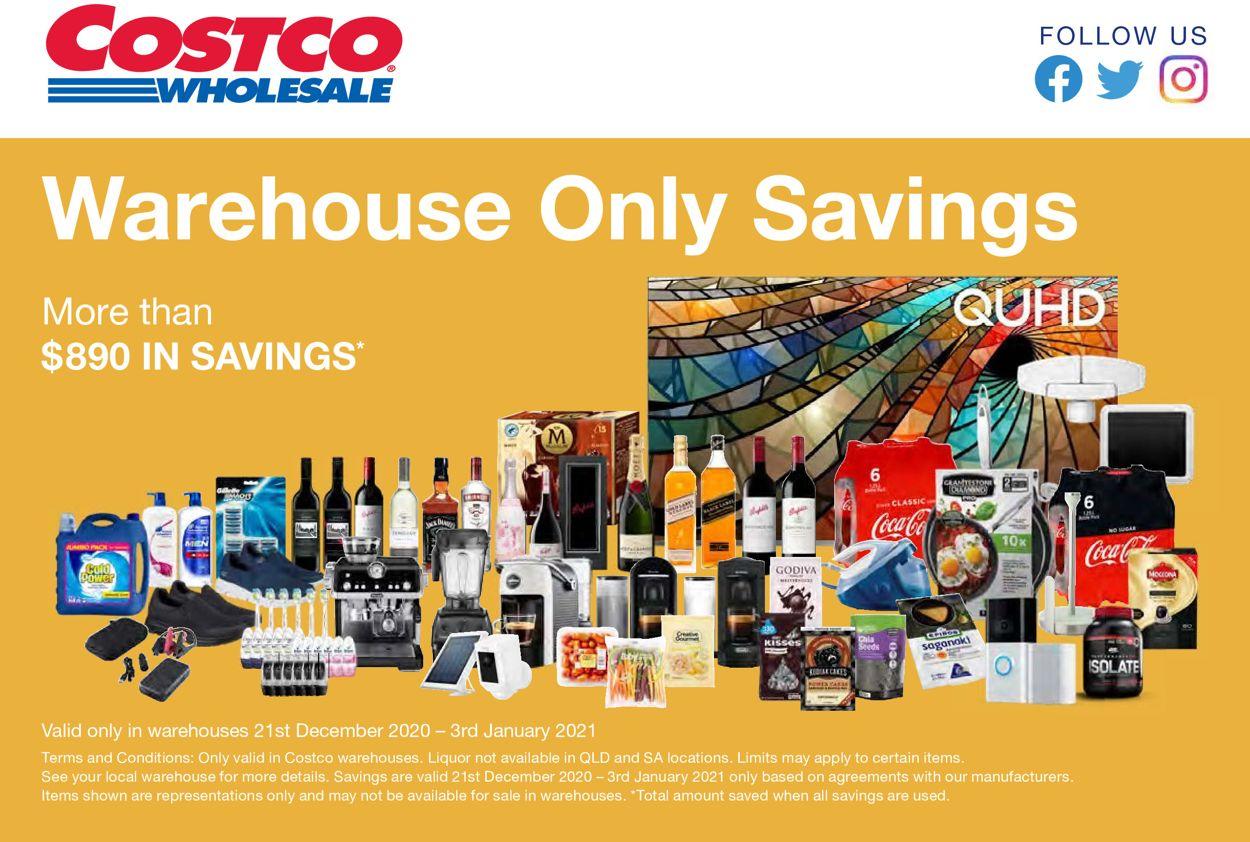 Costco Catalogue - 21/12-03/01/2021