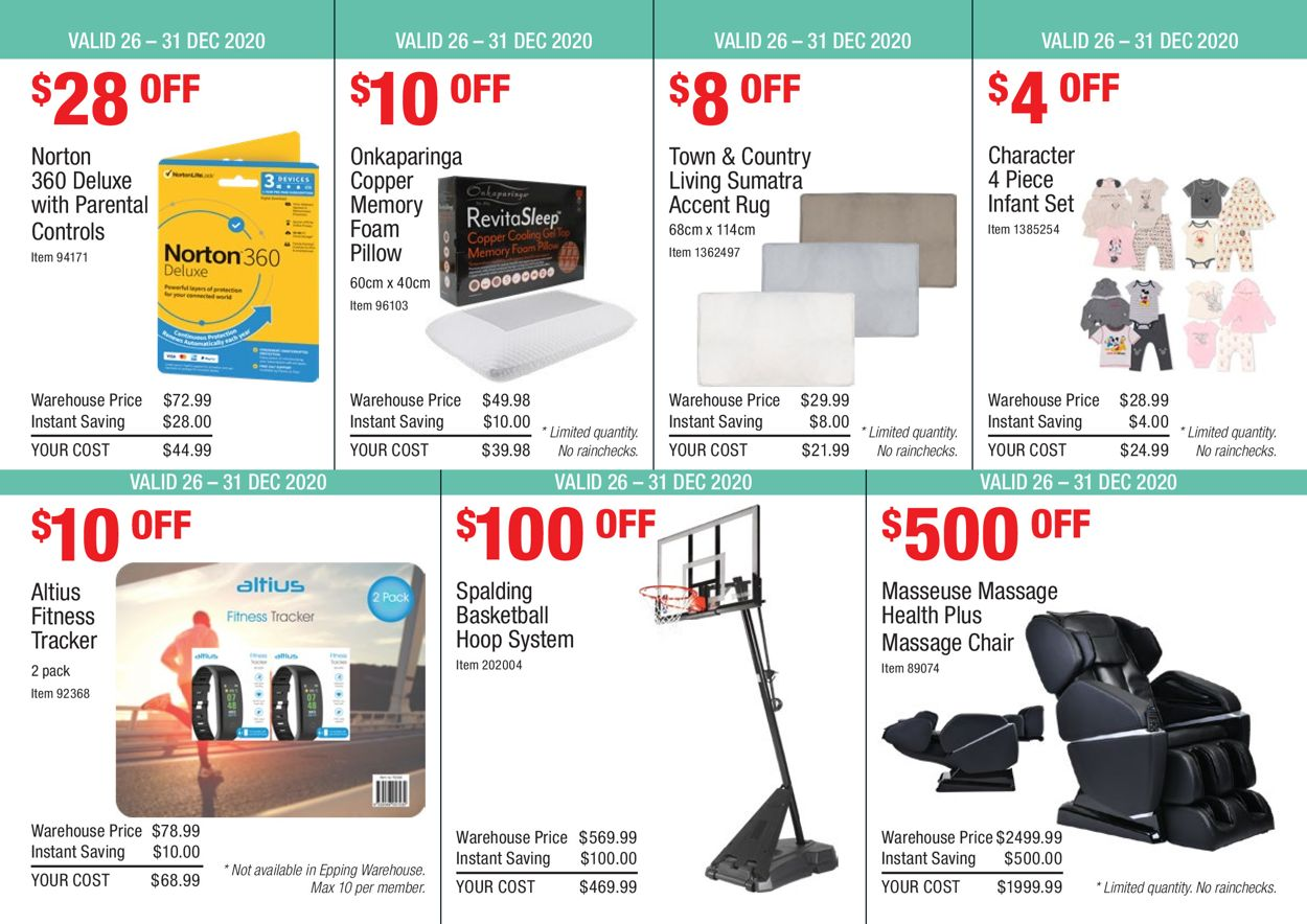 Costco - Boxing Week 2020 Catalogue - 26/12-31/12/2020 (Page 4)