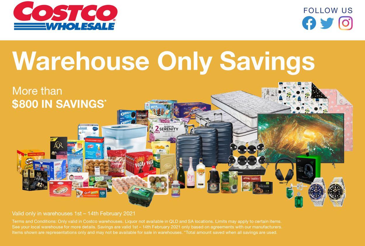 Costco Catalogue - 01/02-14/02/2021