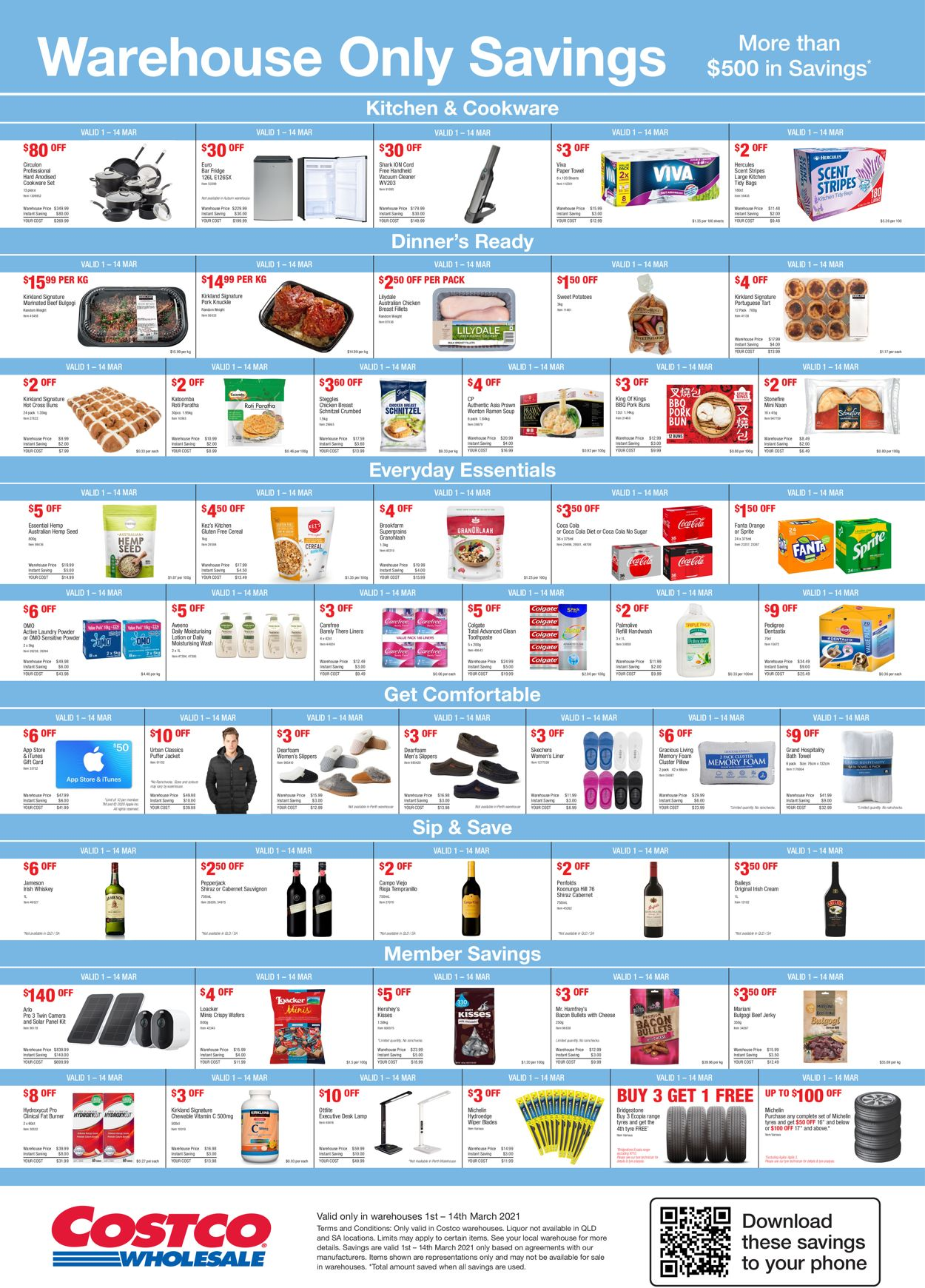 Costco Catalogue - 01/03-14/03/2021