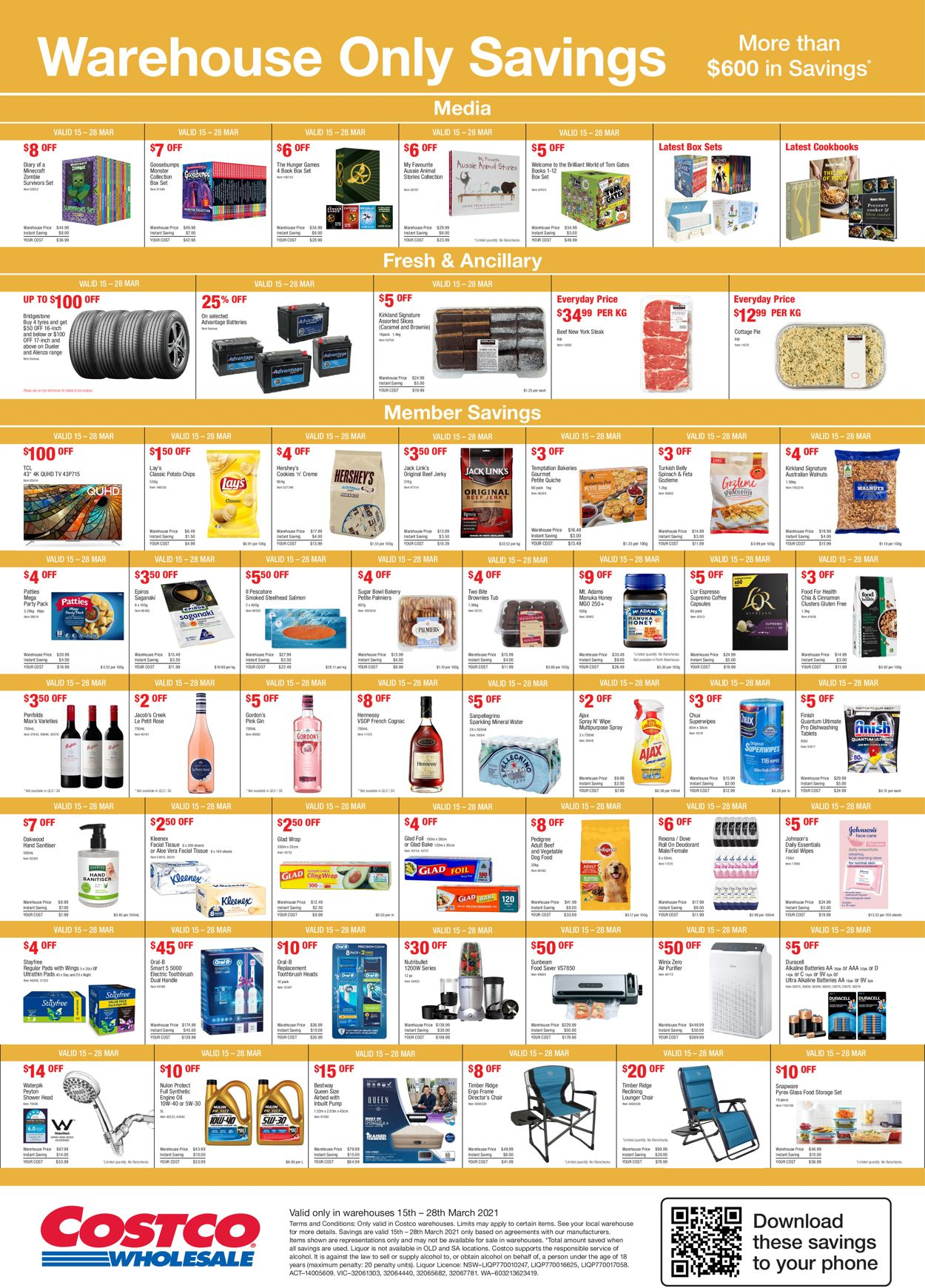 Costco Catalogue - 15/03-28/03/2021