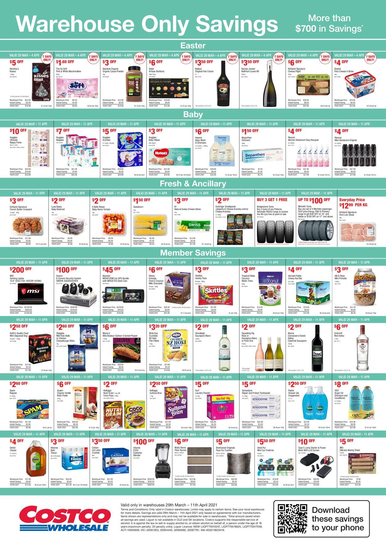 Costco Catalogue - 29/03-11/04/2021