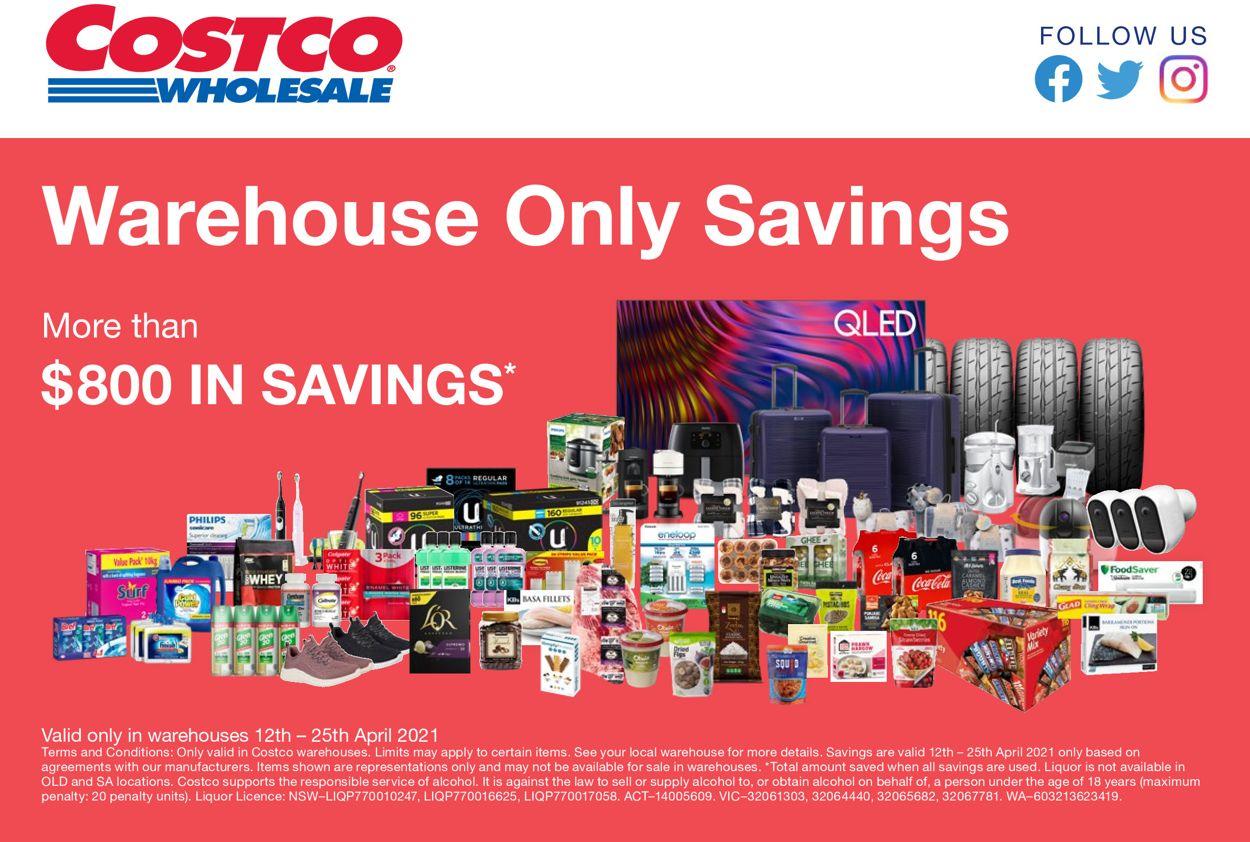 Costco Catalogue - 12/04-25/04/2021