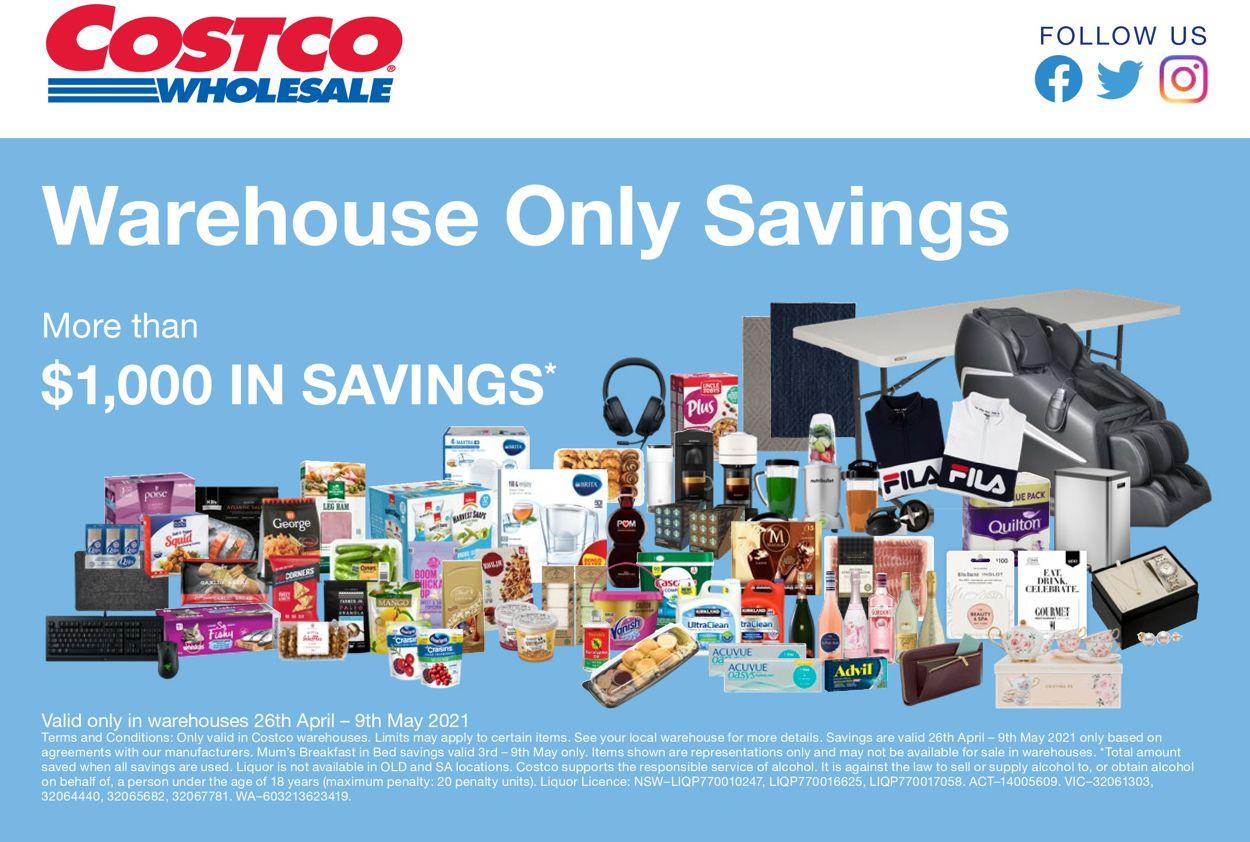 Costco Catalogue - 26/04-09/05/2021