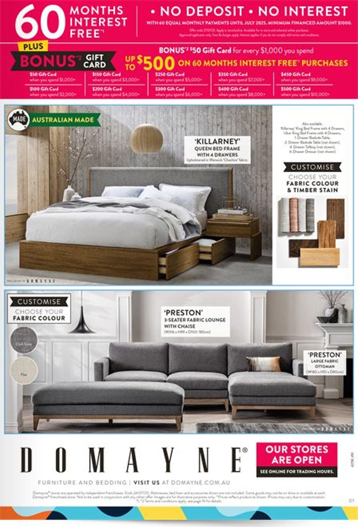 Domayne Catalogue - 10/07-24/07/2020