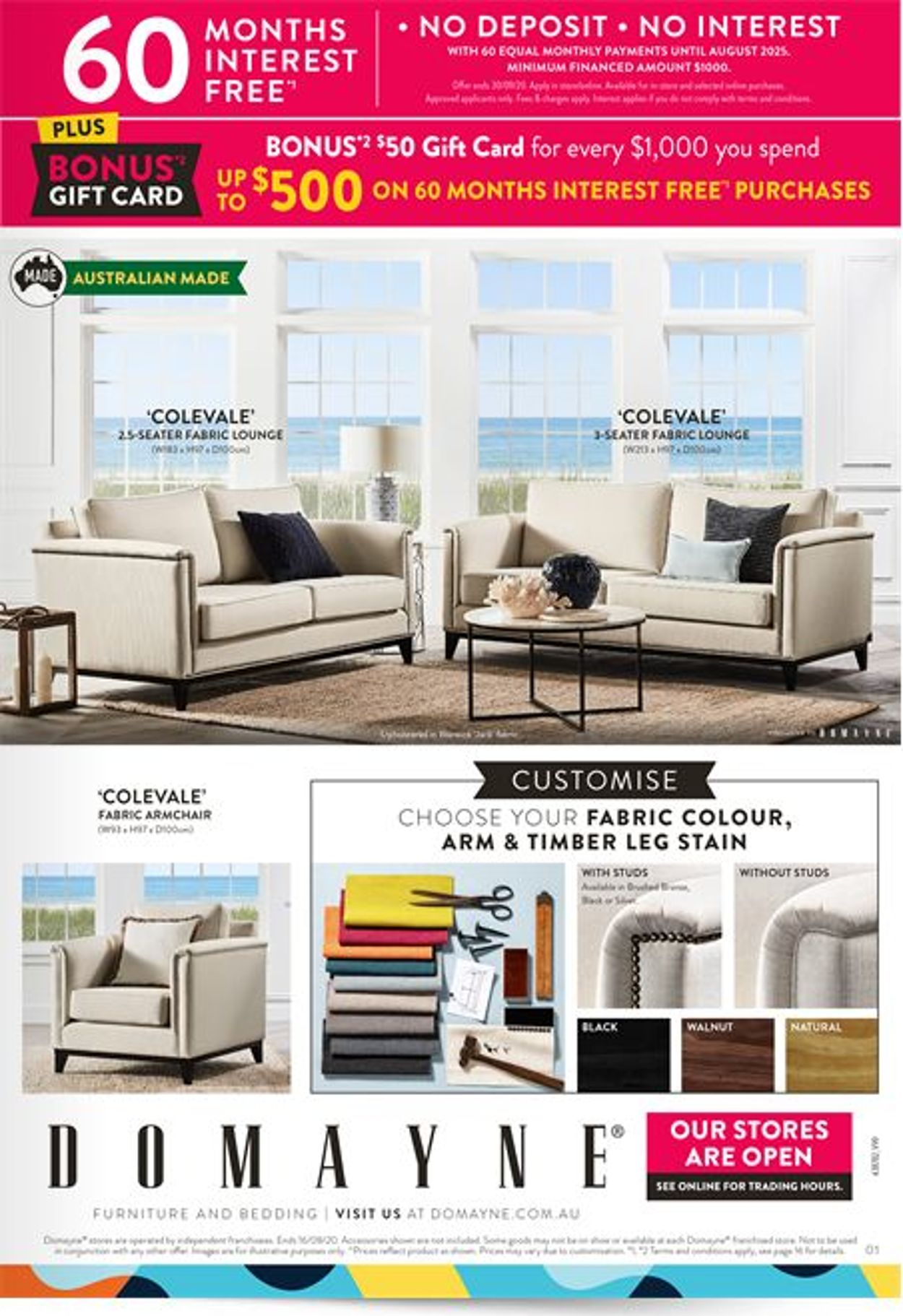 Domayne Catalogue - 13/08-16/08/2020