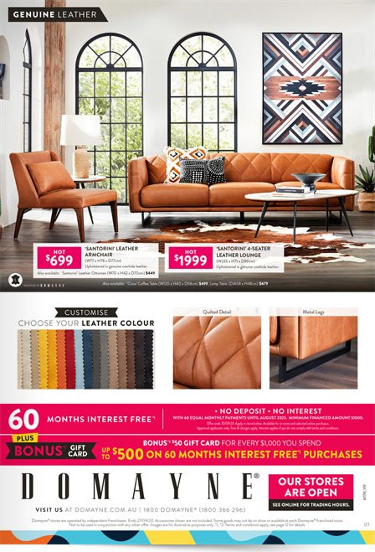 Domayne Catalogue - 24/09-27/09/2020