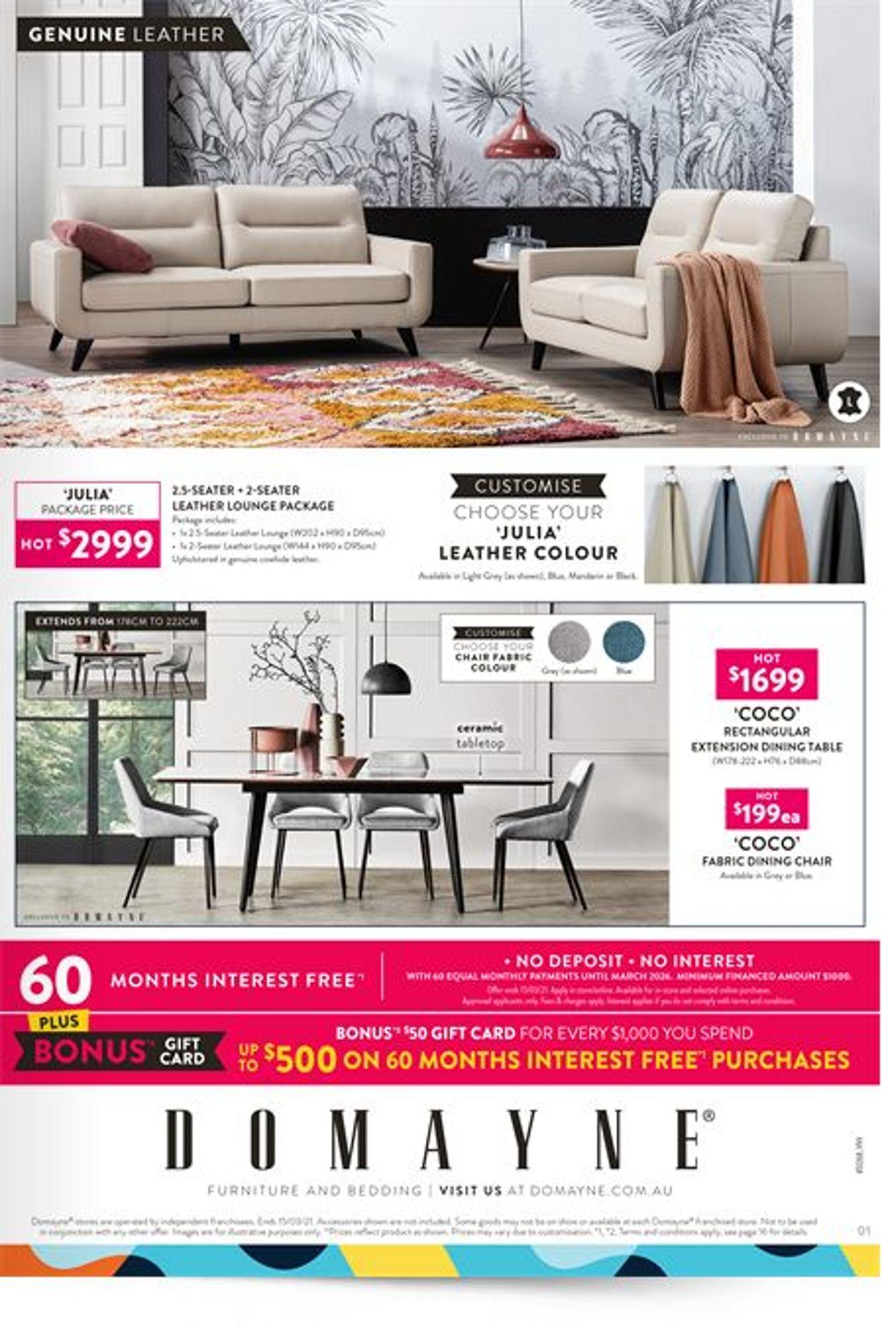 Domayne Catalogue - 06/03-15/03/2021