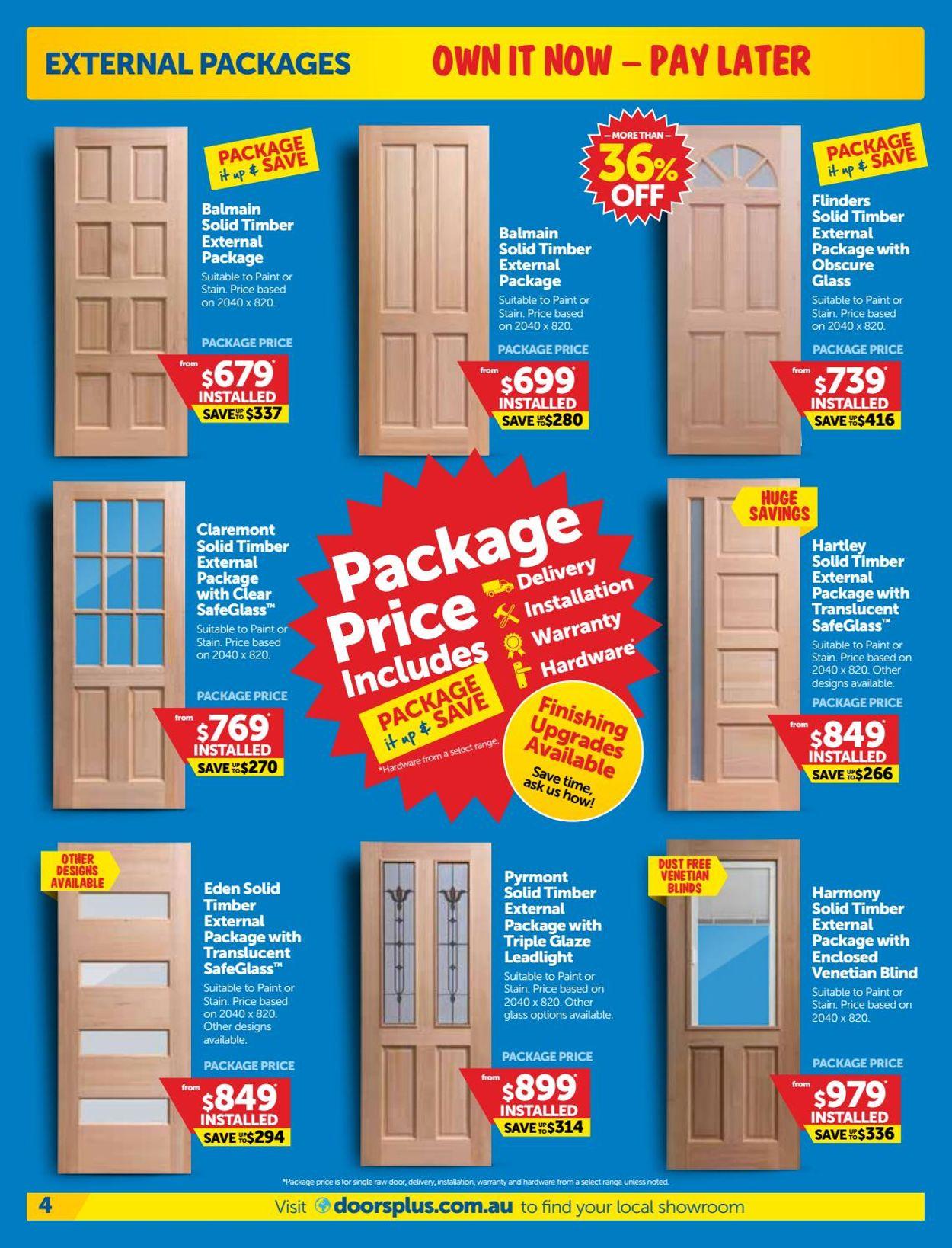 Doors Plus Catalogue - 01/06-30/06/2020 (Page 4)