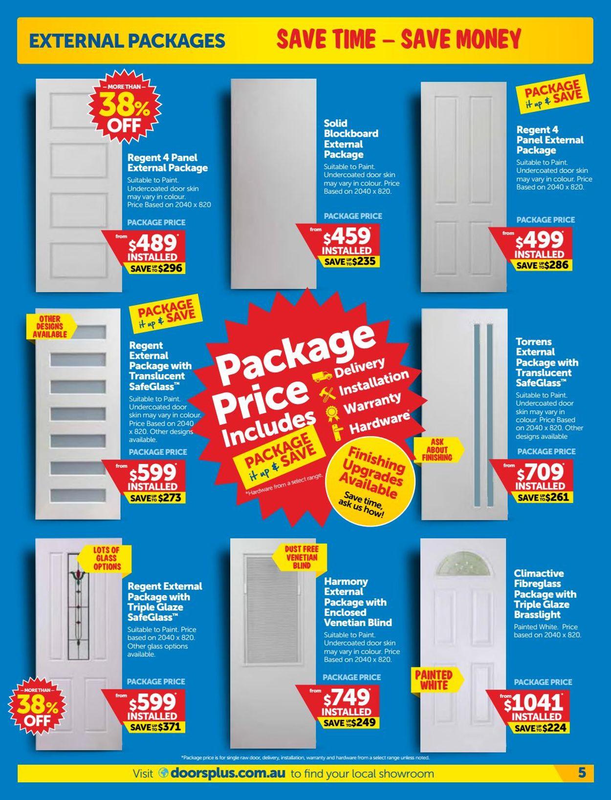Doors Plus Catalogue - 01/06-30/06/2020 (Page 5)