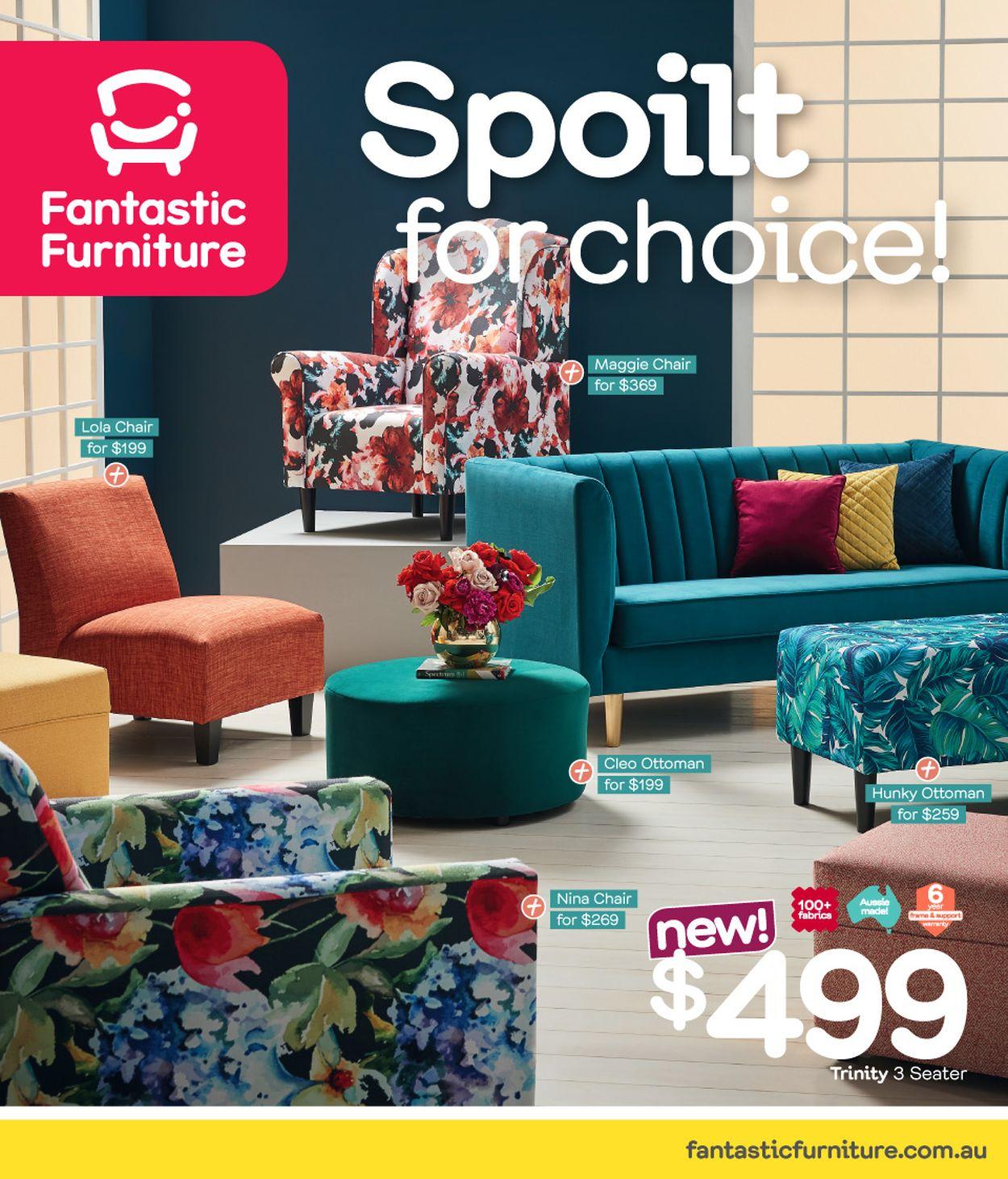 Fantastic Furniture Catalogue - 12/08-29/09/2019