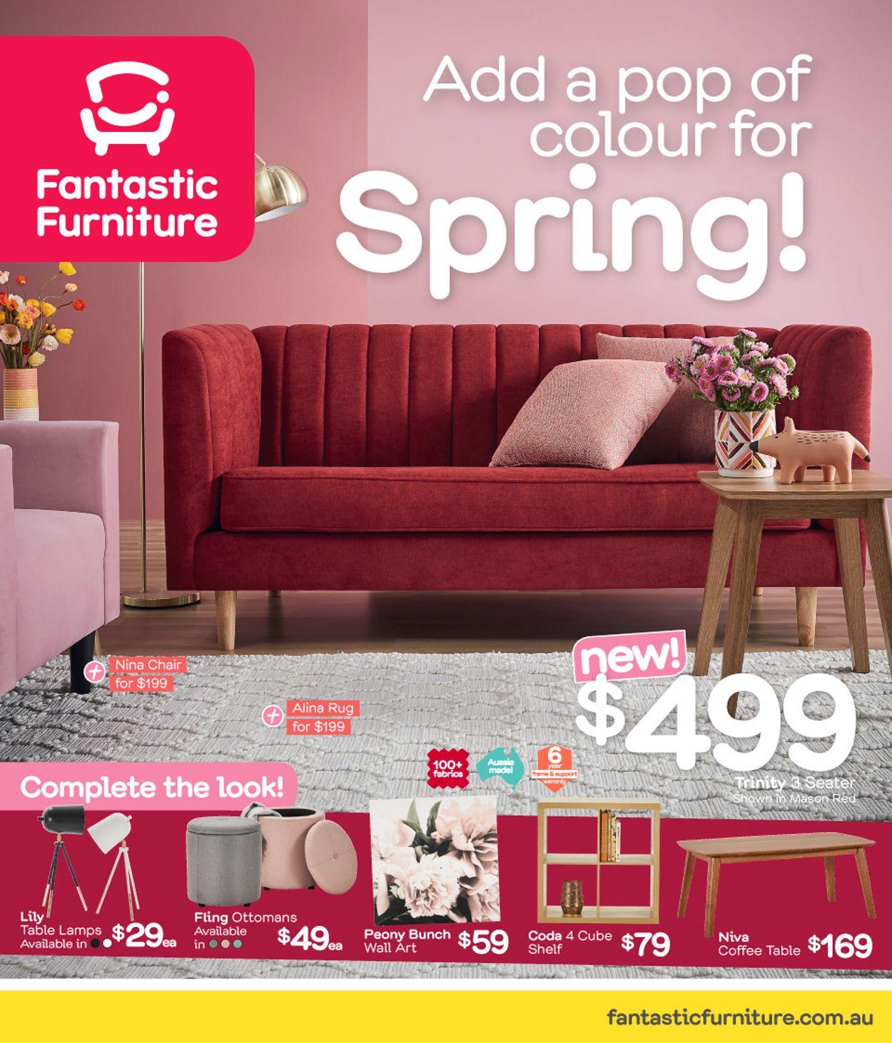 Fantastic Furniture Catalogue - 30/09-27/10/2019