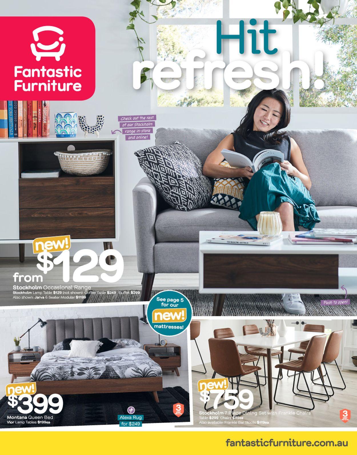 Fantastic Furniture Catalogue - 28/10-24/11/2019