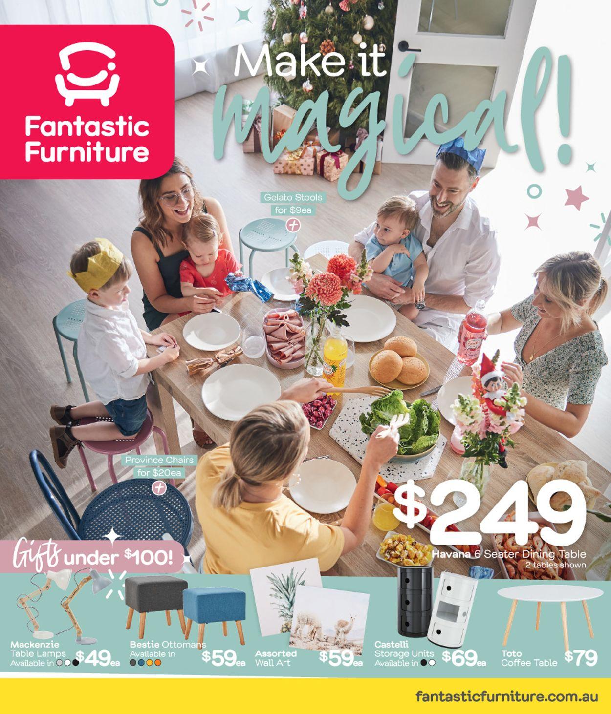 Fantastic Furniture Christmas Catalogue 2019 Catalogue - 25/11-25/12/2019