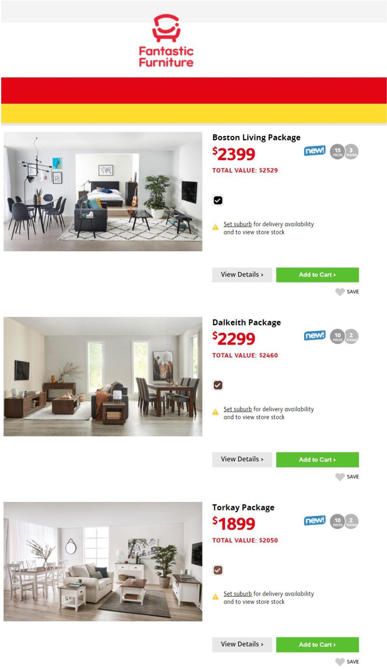 Fantastic Furniture Catalogue - 02/08-10/08/2021