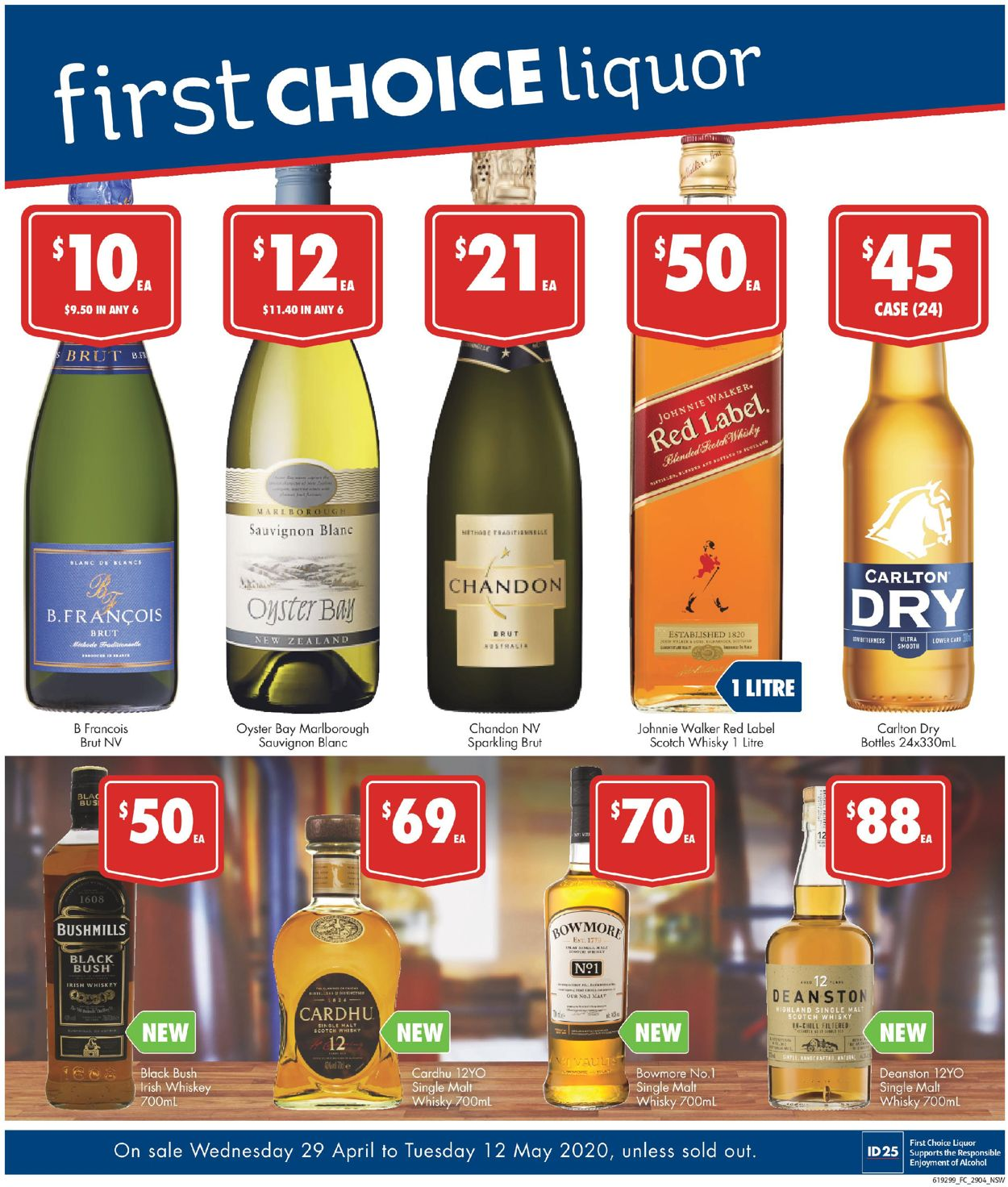 First Choice Catalogue - 29/04-12/05/2020
