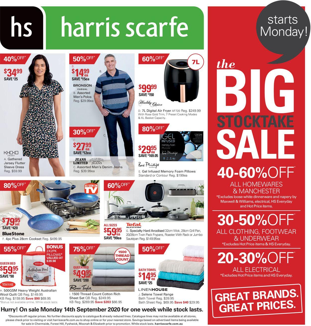 Harris Scarfe Catalogue - 14/09-21/09/2020