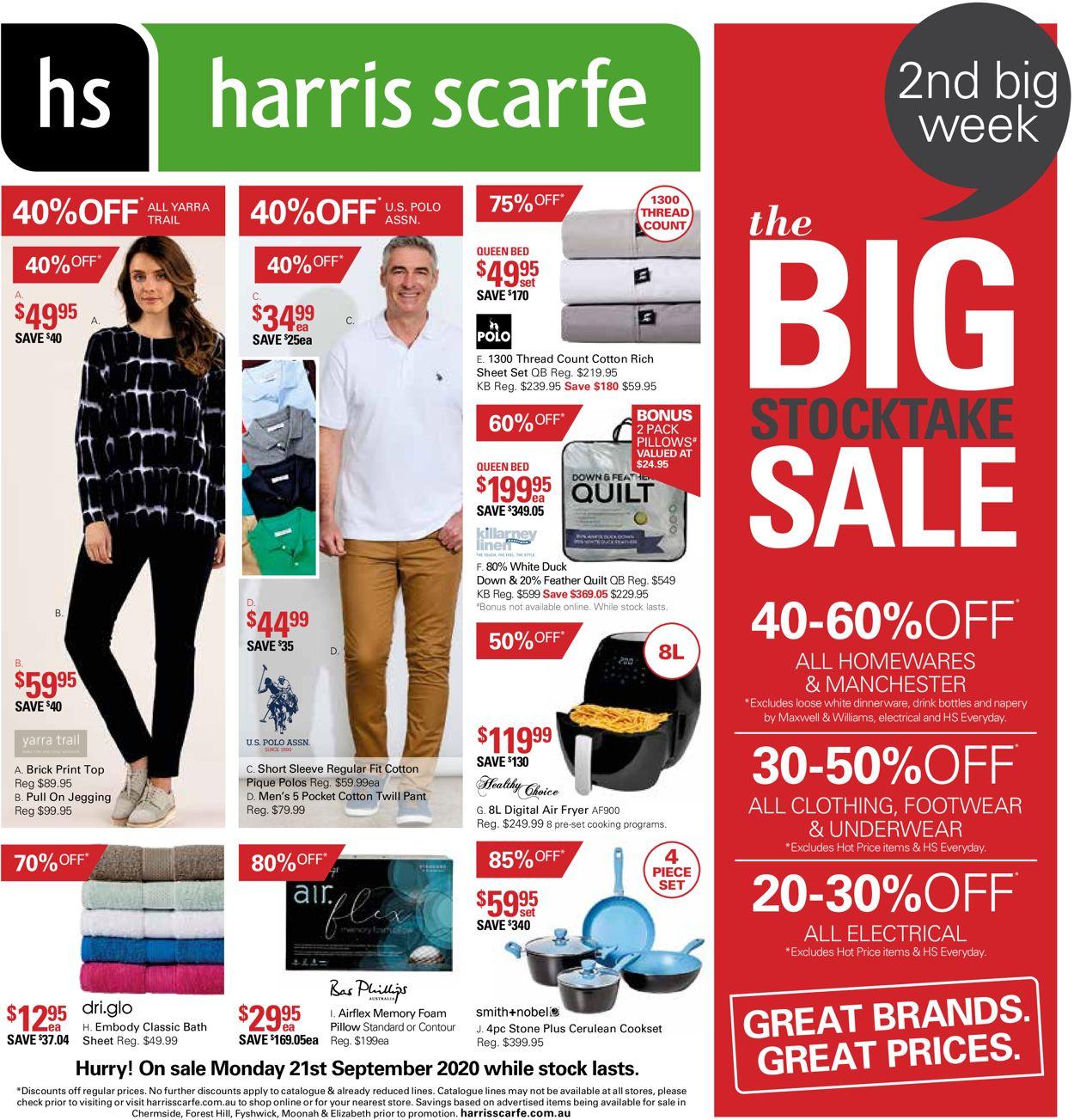 Harris Scarfe Catalogue - 21/09-04/10/2020