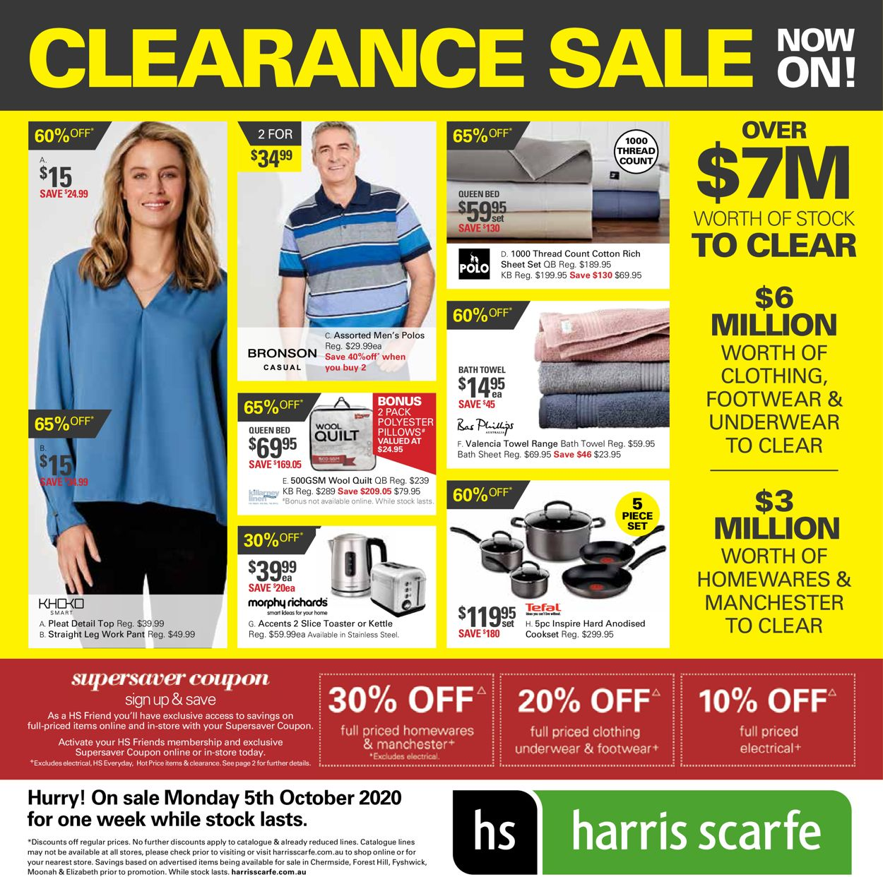 Harris Scarfe Catalogue - 05/10-12/10/2020