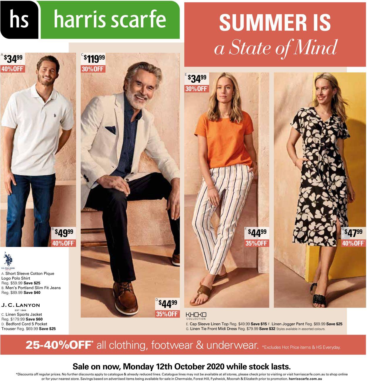 Harris Scarfe Catalogue - 28/09-10/11/2020