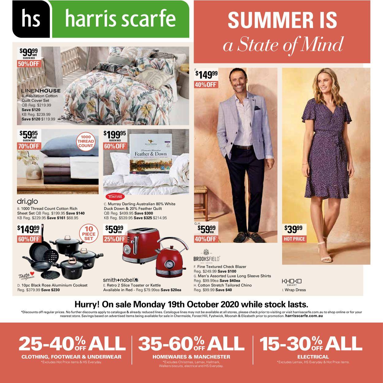 Harris Scarfe Catalogue - 19/10-25/10/2020