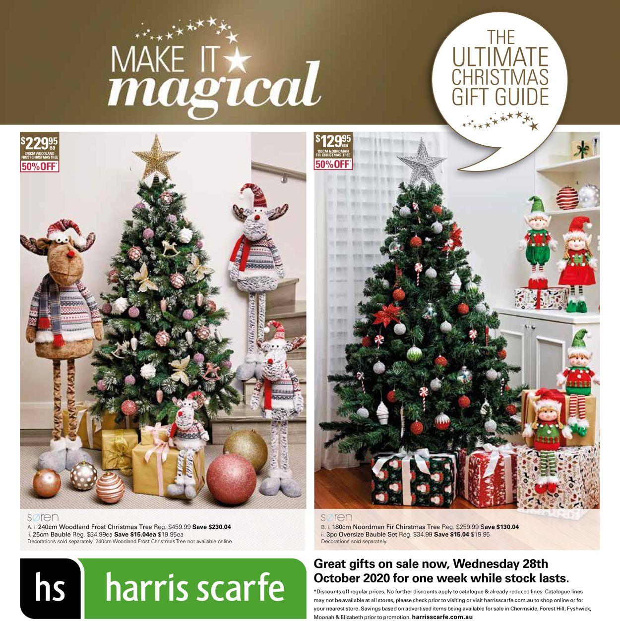 Harris Scarfe Christmas 2020 Catalogue - 28/10-04/11/2020
