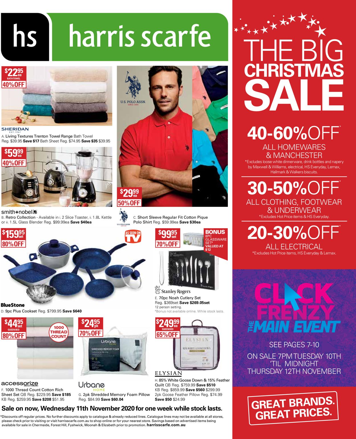 Harris Scarfe Christmas 2020 Catalogue - 11/11-17/11/2020