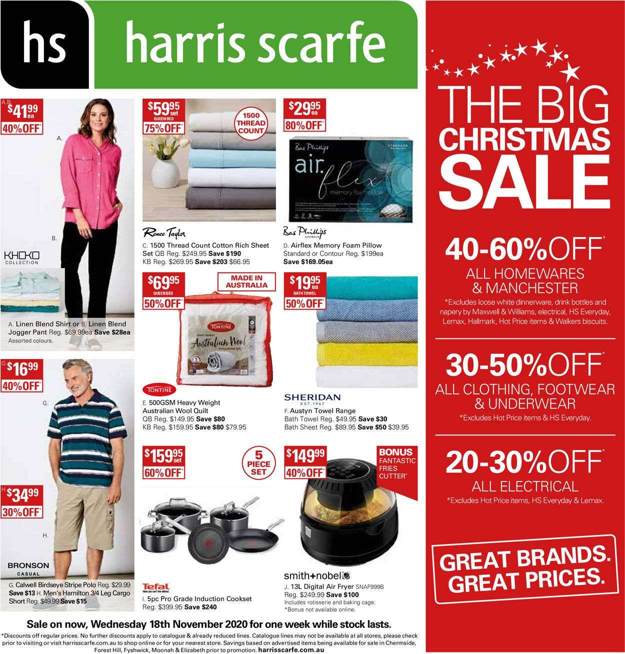 Harris Scarfe Catalogue - 18/11-24/11/2020