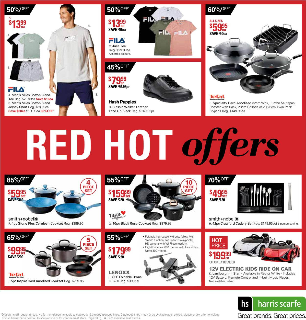 Harris Scarfe - Boxing Day 2020 Catalogue - 12/12-18/12/2020 (Page 3)