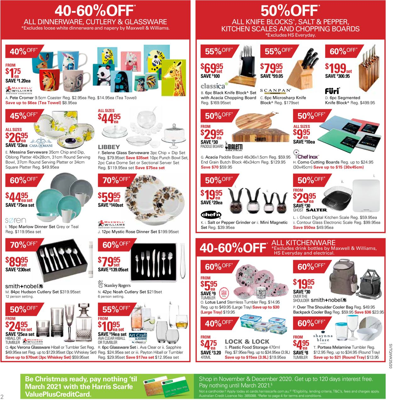 Harris Scarfe - Boxing Day 2020 Catalogue - 19/12-25/12/2020 (Page 2)