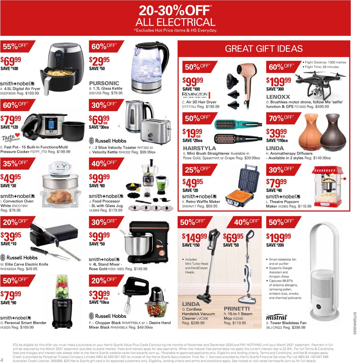 Harris Scarfe - Boxing Day 2020 Catalogue - 19/12-25/12/2020 (Page 4)