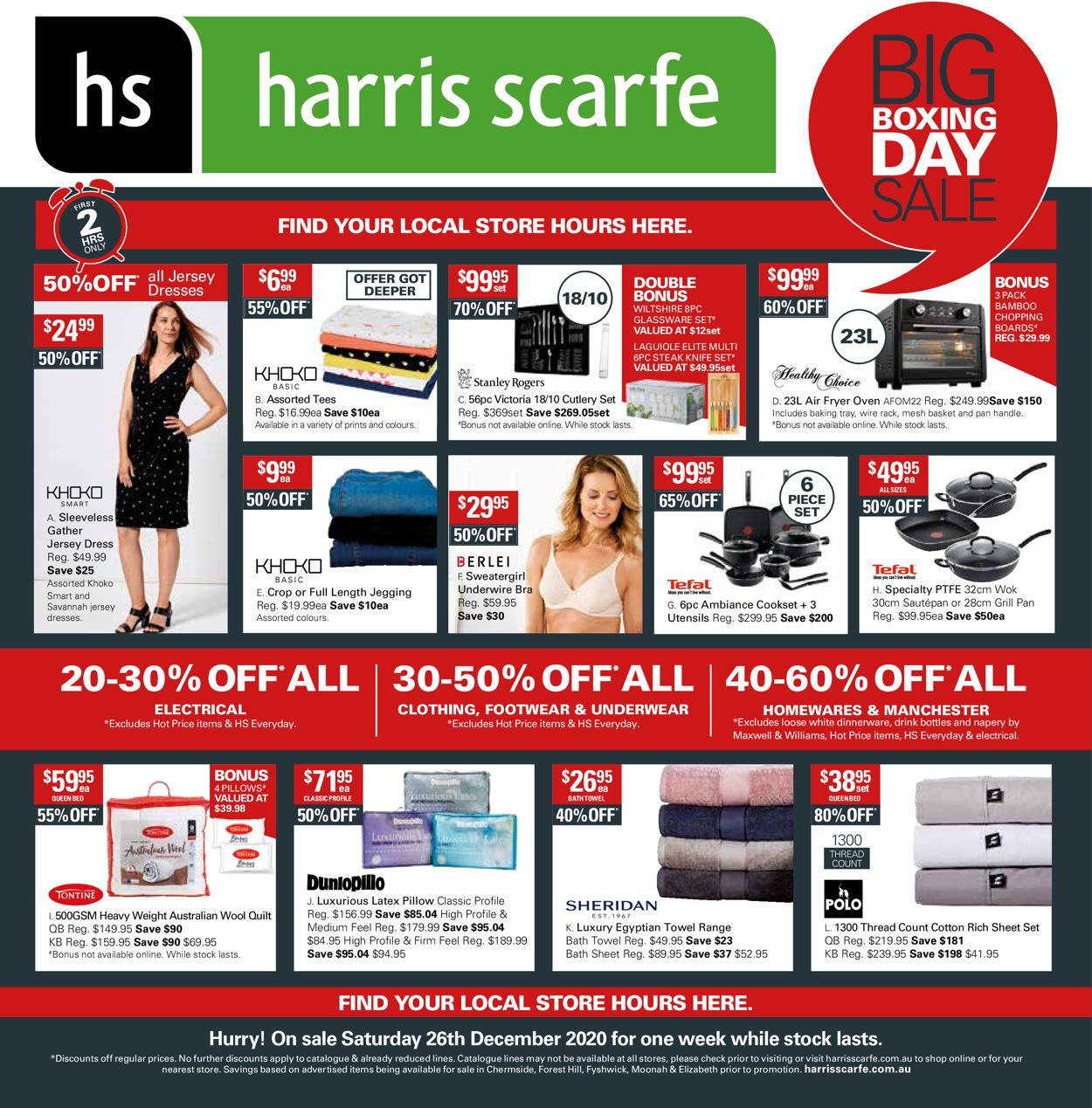 Harris Scarfe Catalogue - 26/12-01/01/2021