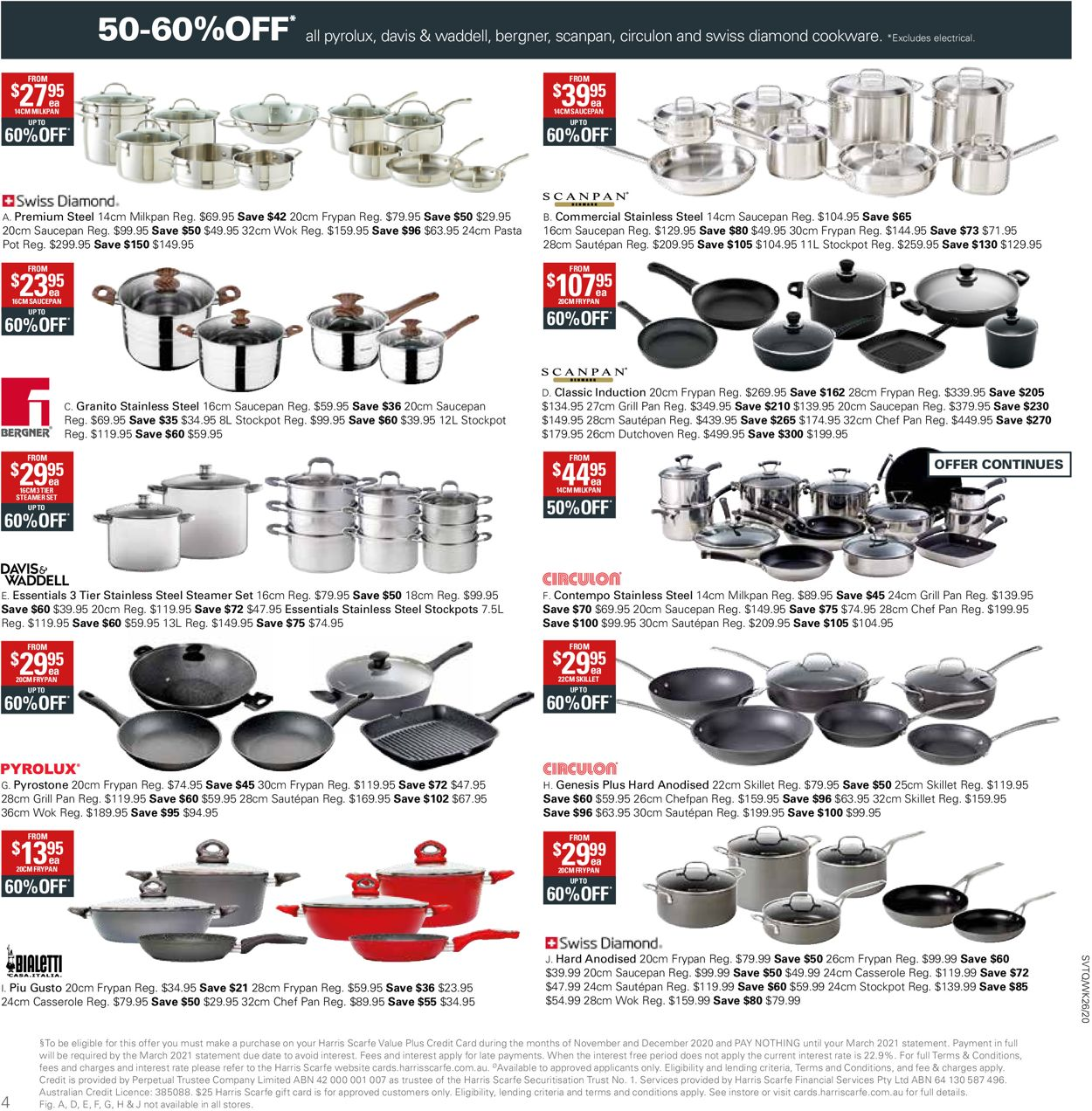 Harris Scarfe Catalogue - 26/12-01/01/2021 (Page 4)