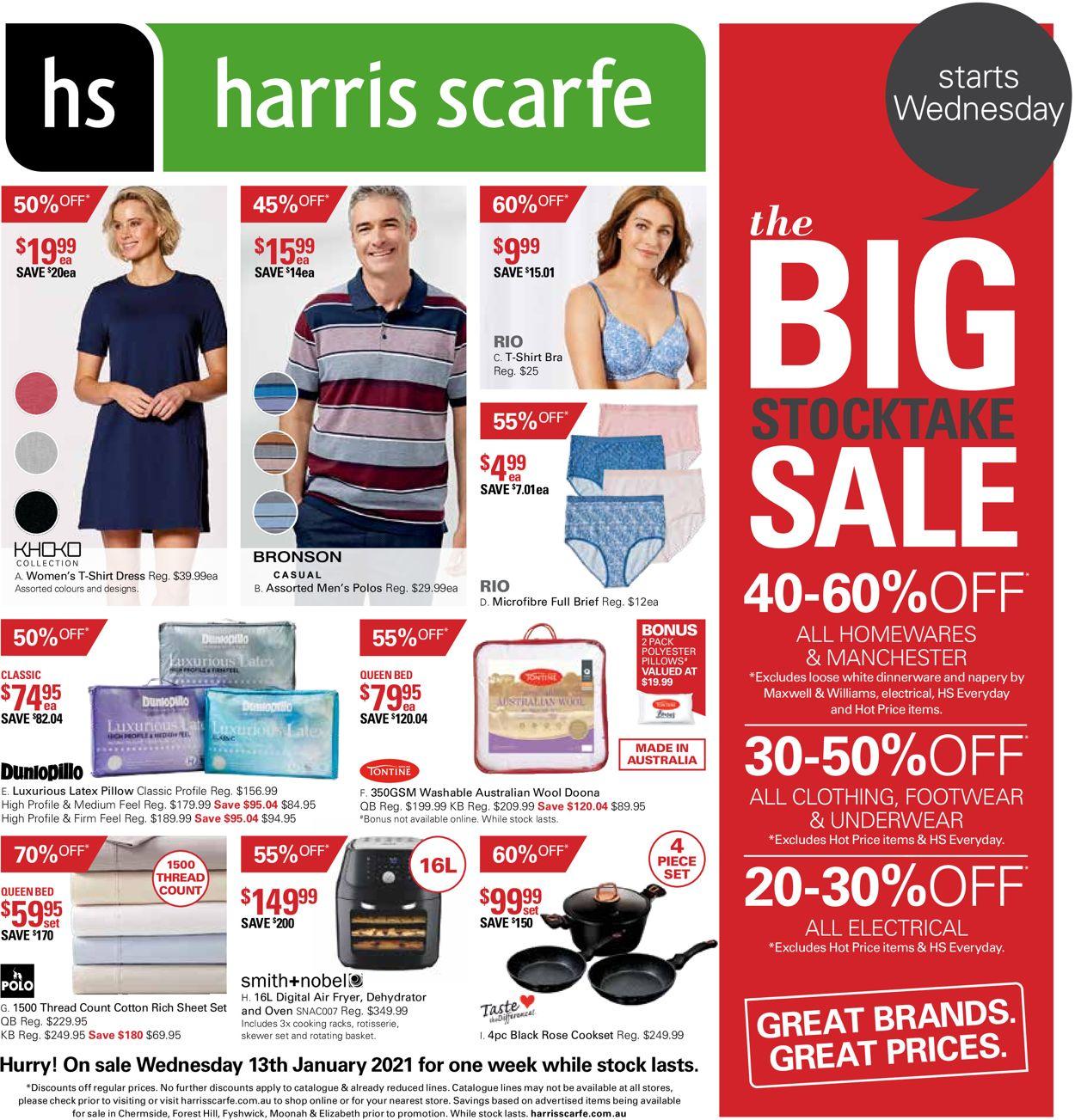 Harris Scarfe Catalogue - 13/01-19/01/2021