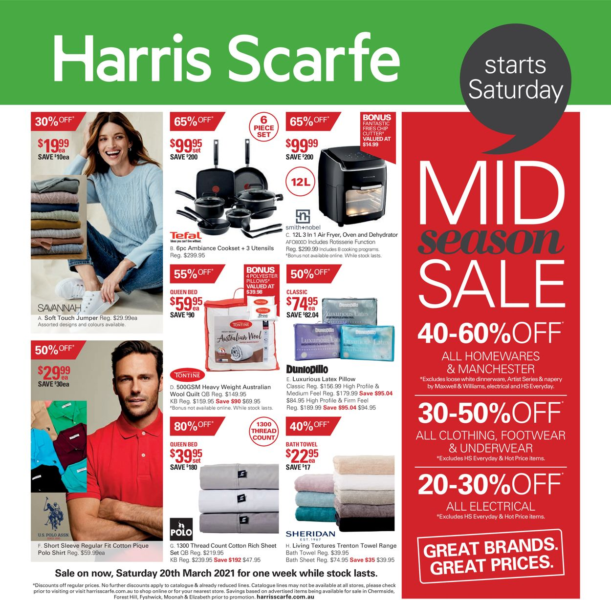 Harris Scarfe Catalogue - 19/03-27/03/2021