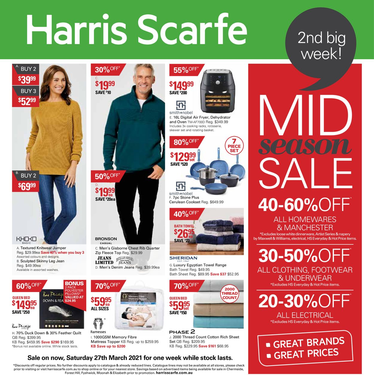 Harris Scarfe Catalogue - 27/03-11/04/2021