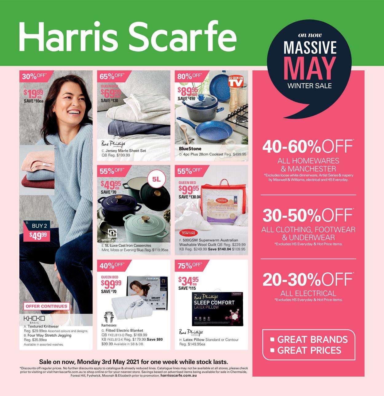 Harris Scarfe Catalogue - 03/05-09/05/2021