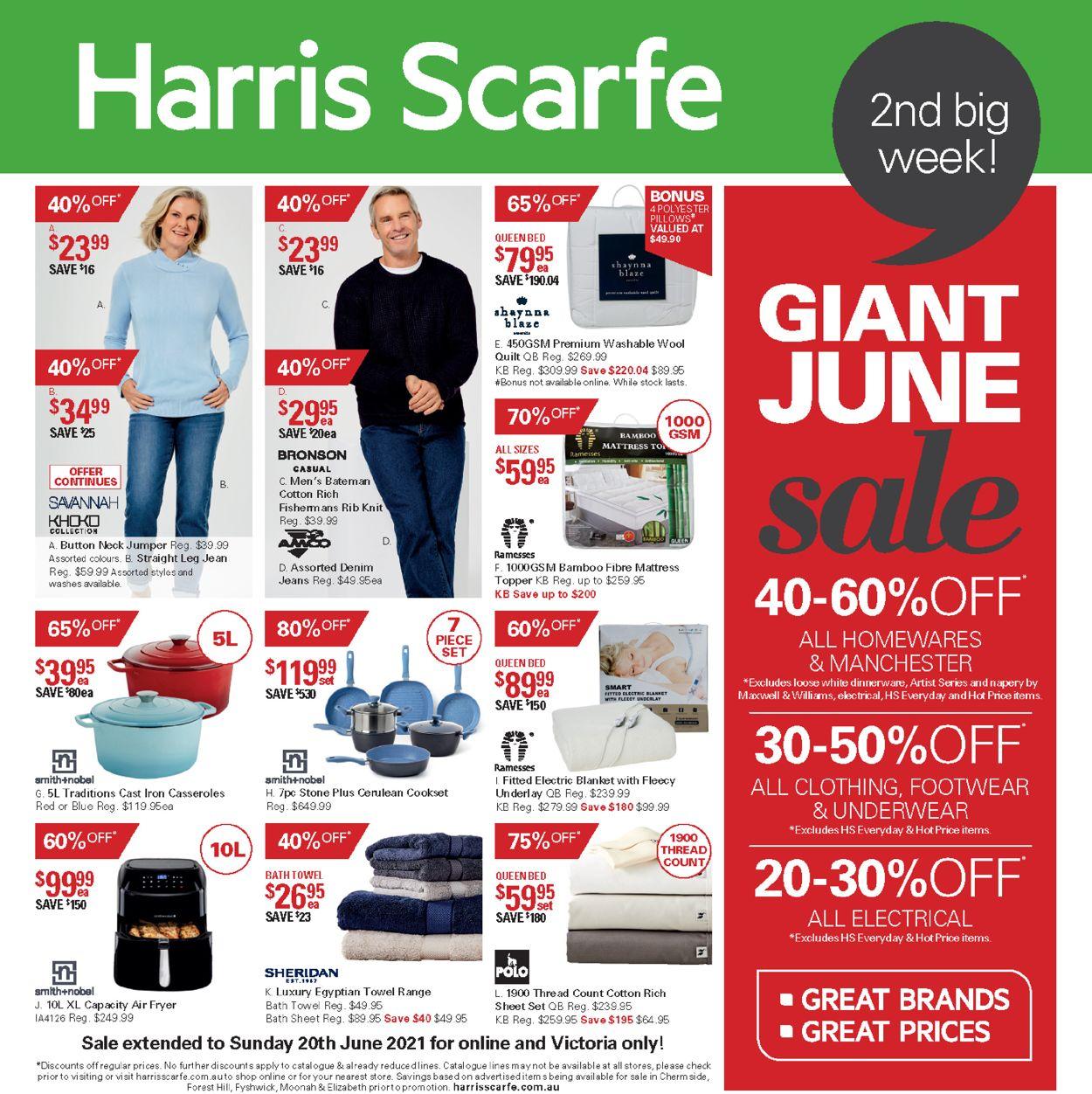 Harris Scarfe Catalogue - 07/06-13/06/2021