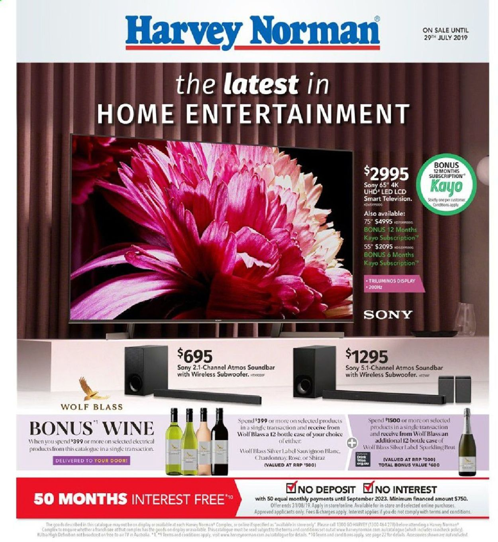 Harvey Norman Catalogue - 12/07-28/07/2019