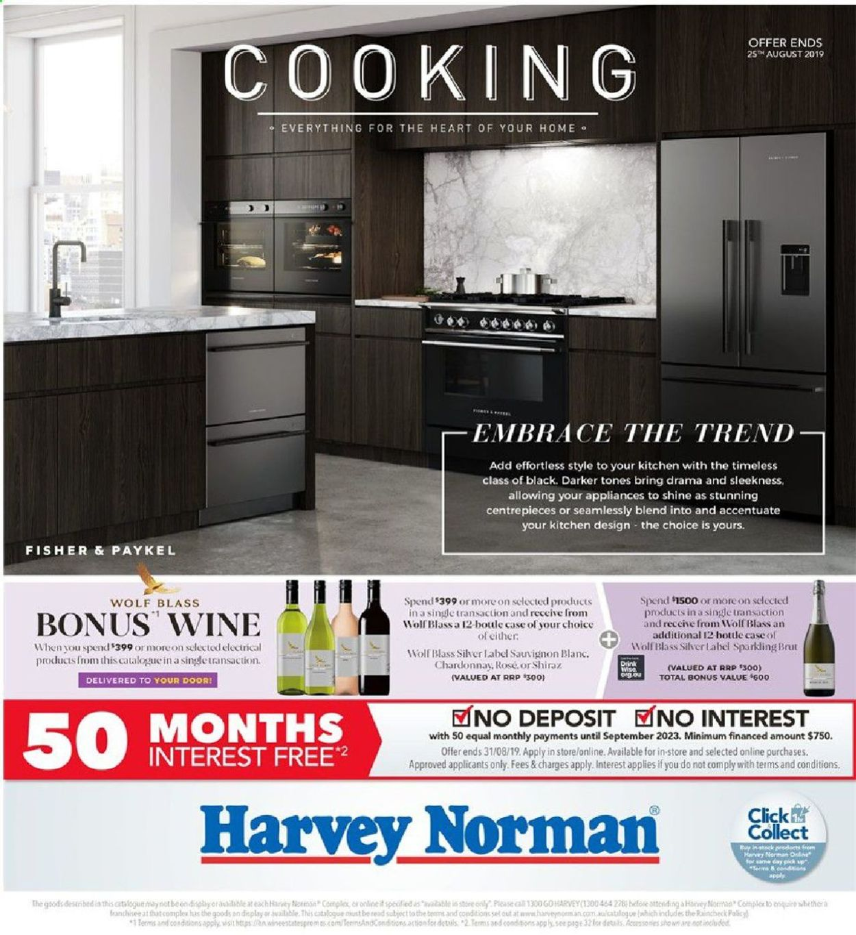 Harvey Norman Catalogue - 26/07-25/08/2019