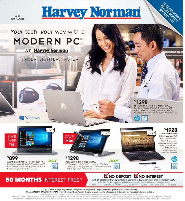 Harvey Norman Catalogue - 02/08-18/08/2019