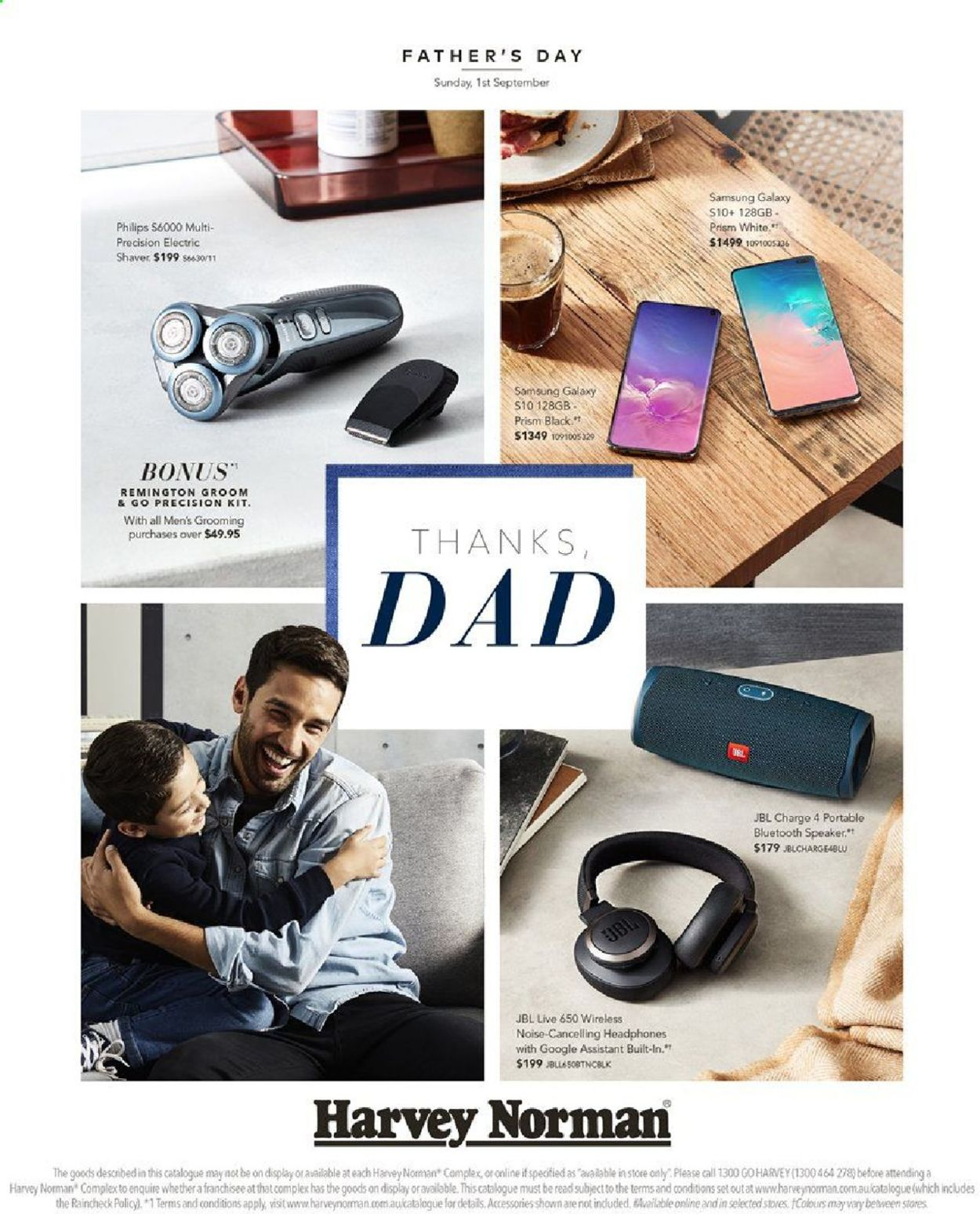 Harvey Norman Catalogue - 16/08-01/09/2019