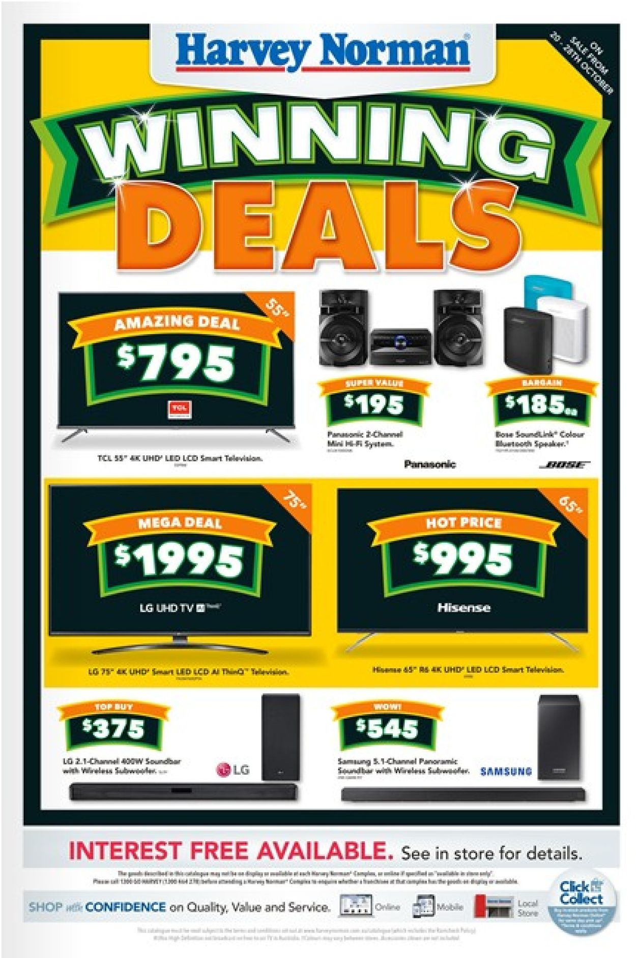 Harvey Norman Catalogue - 21/10-03/11/2019