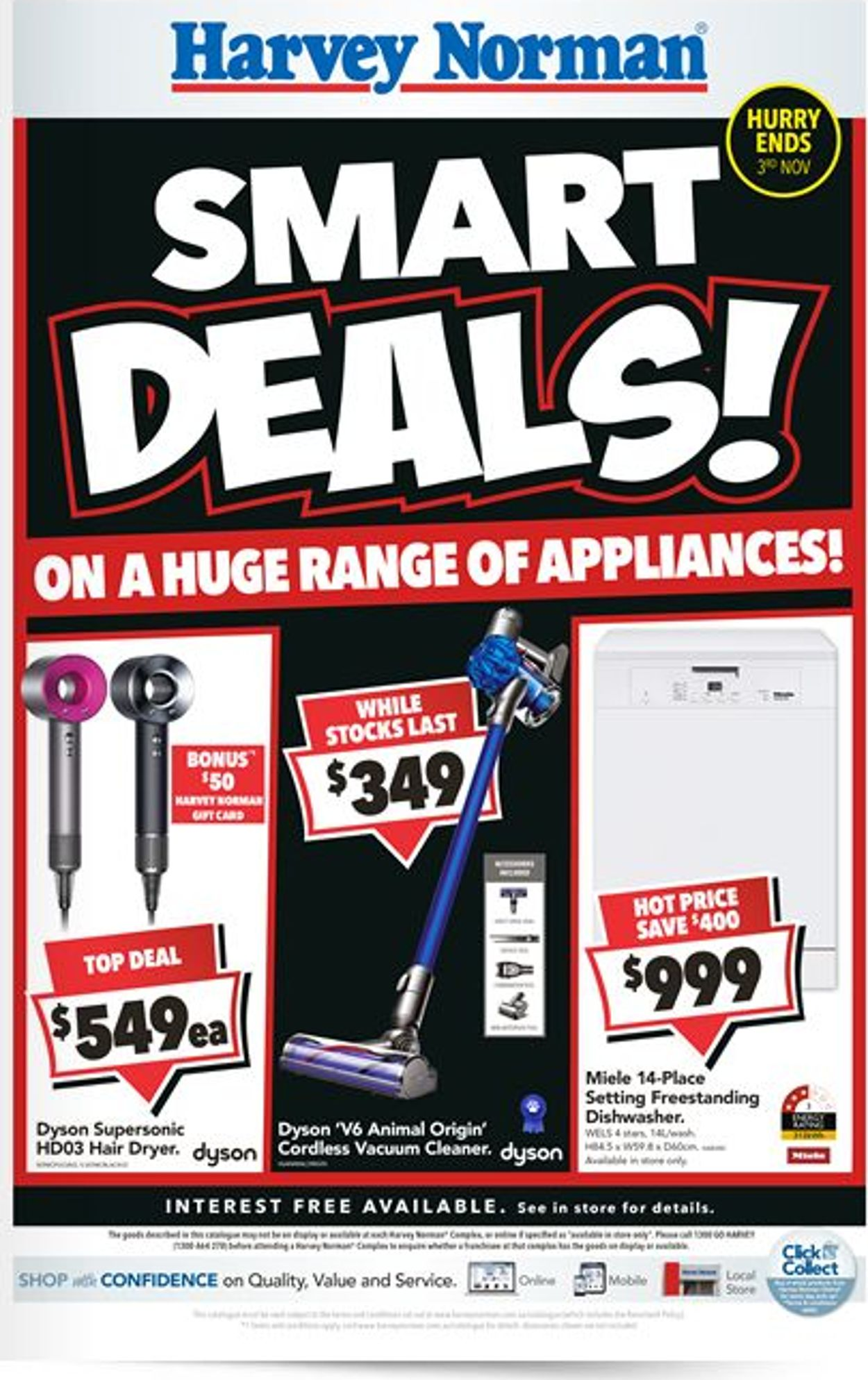 Harvey Norman Catalogue - 18/10-03/11/2019