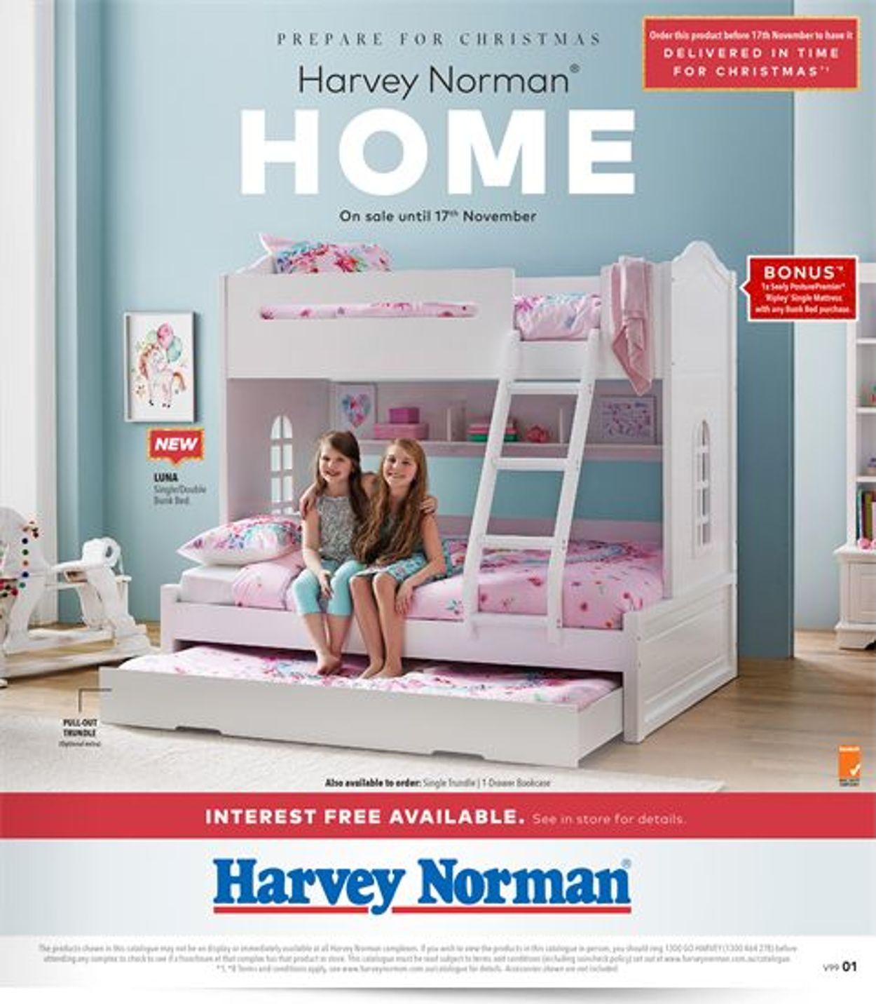 Harvey Norman Catalogue - 25/10-18/11/2019
