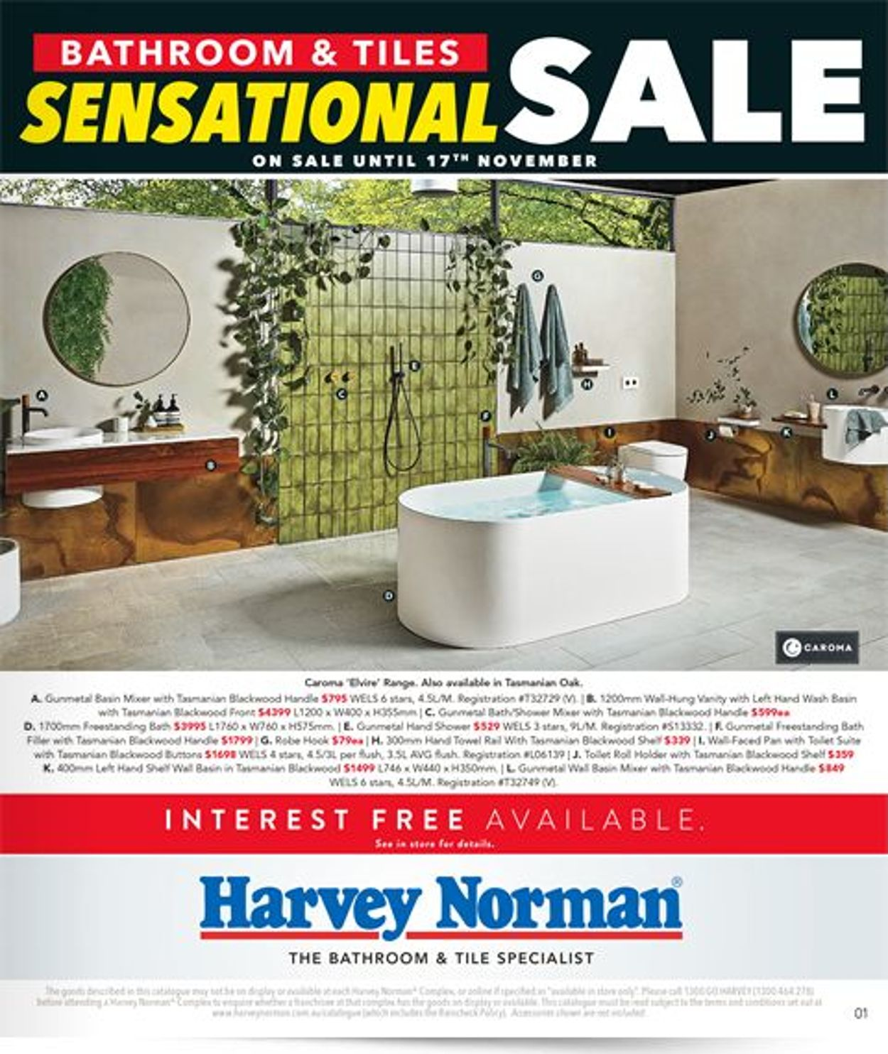 Harvey Norman Catalogue - 01/11-17/11/2019
